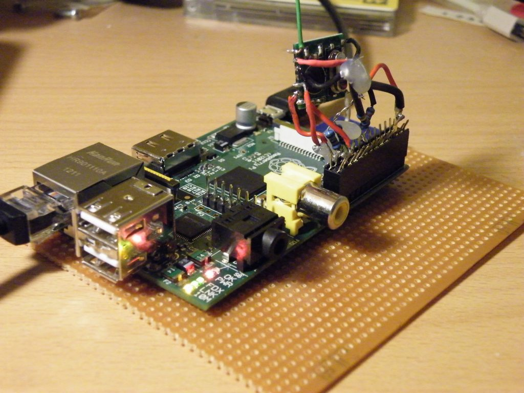 RFM01-Wired to Raspberry Pi