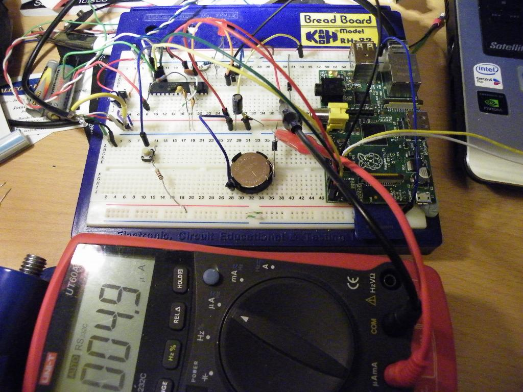 Power the Pi on with a button and off on shutdown