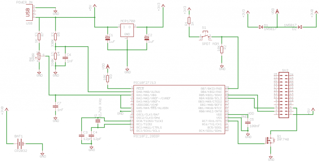 Power Controller with Voltage Trip Point