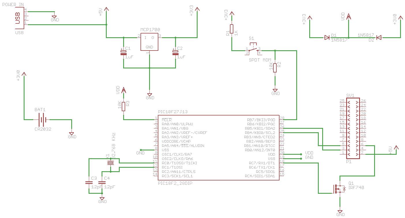 Raspberry Pi Power Controller Schematic Susanet